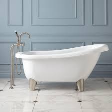acrylic modern bathtub  signature hardware