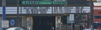 Fonda Theater Seating Chart Balcony Fonda Theatre Tickets And Seating Chart