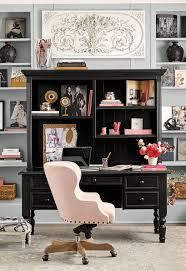 Feminine office chair Upholstered Find Design And Decorating Inspiration From Our Offices And Workspaces Photo Gallery Pinterest Office And Work Spaces Decorating Ideas Office Pinterest Desk