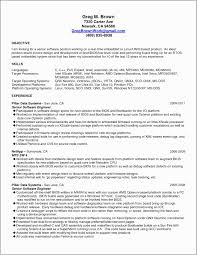 Objective In Resume For Software Engineer Experienced Resume Sample Experienced Software Engineer Valid Resume Software
