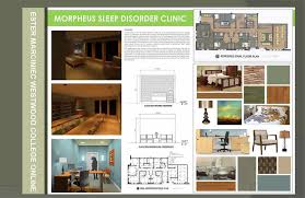 Mixed-Use Commercial Interior Design Project: Sleep Disorder Clinic