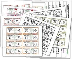 Printable Play Money   Coloring Kids
