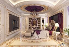 Purple And Gold Bedroom 8 Luxury Interior Designs For Bedrooms In Detail Interior Design