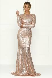 Best 25 Gold Long Sleeve Dress Ideas On Pinterest Gold Prom