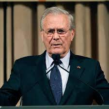 Chefplaner des Irak-Kriegs: Ex-US-Verteidigungsminister Donald Rumsfeld ist  tot