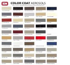 Toyota Trim Code Chart Toyota Interior Auto Paint By Sem Product