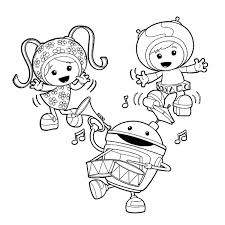 Small Picture Printable Team Umizoomi Coloring Pages Coloring Me