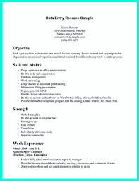 Data Entry Resume Free Download Data Entry Resume Hospital Chief