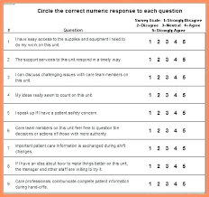 Free Scale Likert Survey Template Word Strand Definition
