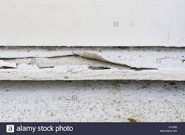Farbe Von Außen Aus Holz Fensterbank Peeling Stockfoto Bild