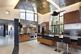 open basement ceiling kitchen contemporary with custom hood san francisco cabinetry professionals