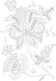 Flowers And Hearts Coloring Pages Ecancerargentinaorg