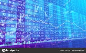 Table Bar Graph Cryptocurrency Stock Exchange Market Indices