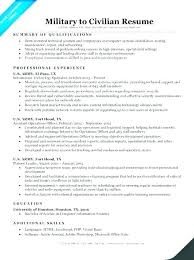 Military To Civilian Resume Examples Gorgeous Military Veteran Resume Examples Gyomorgyuru
