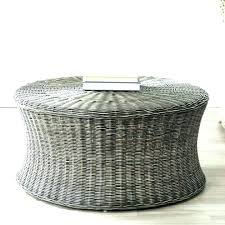 outdoor rattan coffee table footstool large nderful coffee tables black ottoman storage outdoor rattan table round