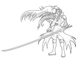 Small Picture Sephiroth Kingdom Hearts Coloring Pages Sketch Coloring Page