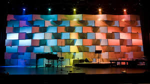 Church Stage Design Ideas A Great Use Of Coroplast Taste The Rainbow If Youve Been Exploring Churchstagedesignideascom