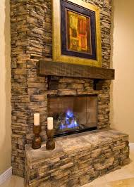 stacked stone fireplace images dry stack designs rock fireplaces installing surround