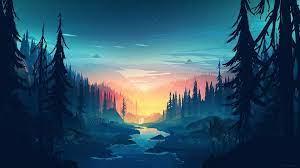 Landscape Horizontal Aesthetic