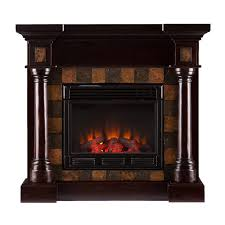 wildon home clark convertible slate electric fireplace for cute fireplace slate