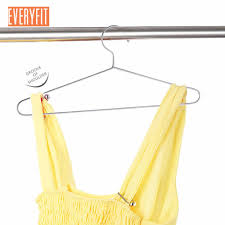Hanger Wire Gauge Chart 10pcs Stainless Steel Strong Metal Wire Hangers Clothes Hangers 3mm Thickness Gage Hanger Houseware Drying Clothes Organizer