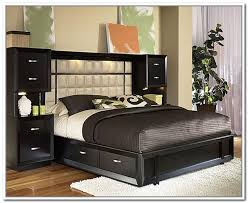 home and furniture remarkable queen headboard with storage on amazing savings hillary size bed bookcase