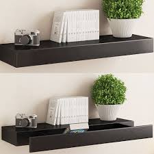 hudson easy mount floating shelves 3 pk 36 in pertaining to proportions  3200 x 3200 auf White Photo Ledge Wall Shelf