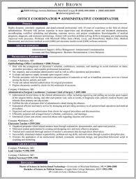 office coordinator resume - Office Coordinator Resume