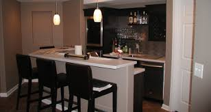 Clever And Simple Basement Wet Bar Placement GMM Home Interior 81188
