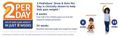 Pediasure Grow Gain Kids Nutritional Shake With Protein Dha And Vitamins Minerals Berry 8 Fl Oz 6 Count