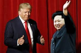 Image result for 特朗普在新闻发布会上,甚至提到了最终从韩国撤军