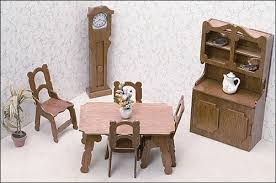 miniature doll furniture. Miniature Dining Room Furniture Doll I
