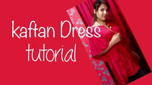 How To Make A Caftan Dress Youtube
