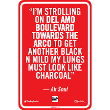 Ab Soul Rap Quotes Street Sign Arco Jason Shelowitz Jay Shells Simple Ab Soul Quotes
