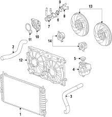 Genuine buick outlet pipe bui 12592401