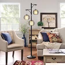 living room floor lamps. triple wicker floor lamp living room lamps s