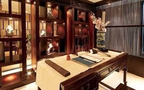 oriental chinese interior design asian inspired study room home