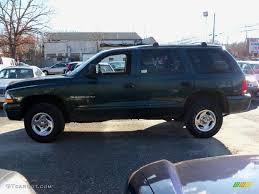 1998 Forest Green Metallic Dodge Durango SLT 4x4 #58700824 Photo ...