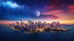 2560x1440 New York City Art 1440P ...