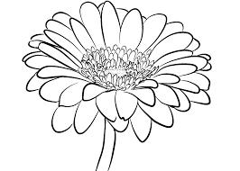 20 hình vẽ hoa hướng dương cực đẹp và dễ cho bé tập tô màu
