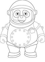 Small Picture Awesome Special Agent Oso Coloring Page Download Print Online