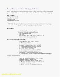 Resume For College Students Best Of How To Make A Resume For A