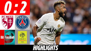 Choupo-Moting bringt PSG zum Glänzen | FC Metz - Paris St. Germain 0:2 |  Highlights