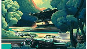 Each car featured has been painstakingly created using a combination of 3d renderings and cgi imagery over hundreds of hours of labour. Get Your Hands On Mercedes Epic Hockenheim Poster And Help Cancer Research Gpfans Com