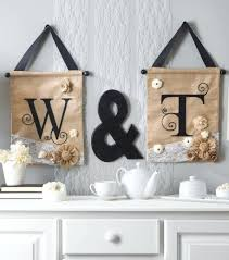 embellished initial letters on burlap wall hangings black letter c art decor for nursery canvas 913x1035