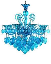 blue chandelier blue silk chandelier shades