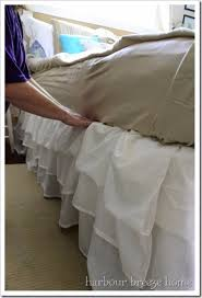 bedroom vintage ideas diy kitchen: shabby chic decor and bedding ideas ruffled bedskirt rustic and romantic vintage bedroom