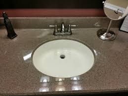 Refinish Bathroom Countertop Refinishing Cultured Marble Countertops Design New Countertop