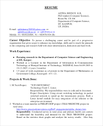 24 Career Objective For Resume For Experienced Software Engineers