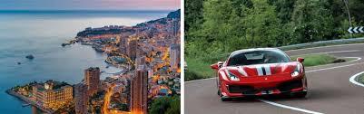 Ferrari Tours In Monte Carlo